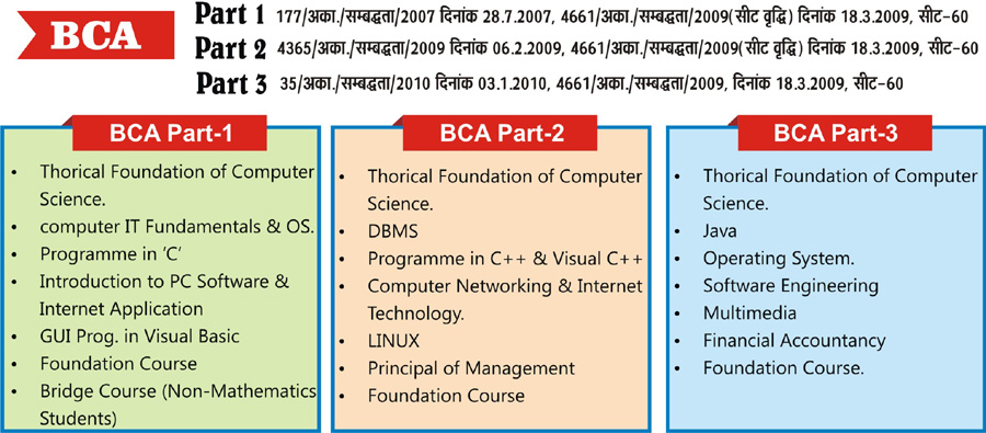 Bachelor in Computer Application